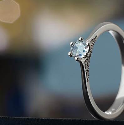 Delicate Engagement Rings Harriet Kelsall